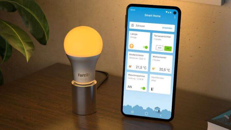 SmartHome LED AVM FRITZ!DECT 500