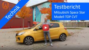 Mitsubishi Space-Star Testvideo