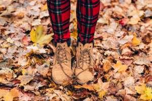 Laufen auf dem Waldboden