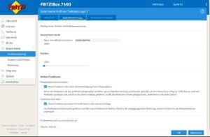 FRITZ!Box Rollladensteuerung konfigurieren