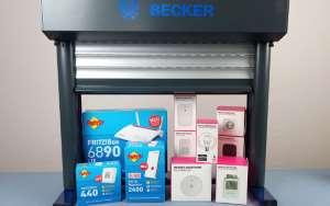 AVM Telekom Magenta & Becker Antriebe