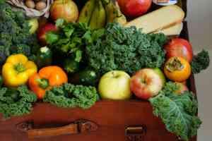 Gesundes Essen und viele Vitamine